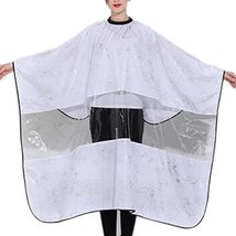 Hairdressing Gown Cloth Wrap Protect Hair Design Hair Cutting Cape Hairc... - $18.68