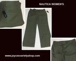 Nautica womens 16 green pants web collage thumb155 crop