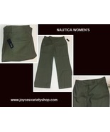 Nautica Jeans Sz 16 Women's Dark Green Khaki - $16.99