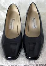 """Etienne Aigner Women's Shoes Pumps Size 8 1/2 M Black 2 1/2"""" Heels Style #39 - $33.76"""