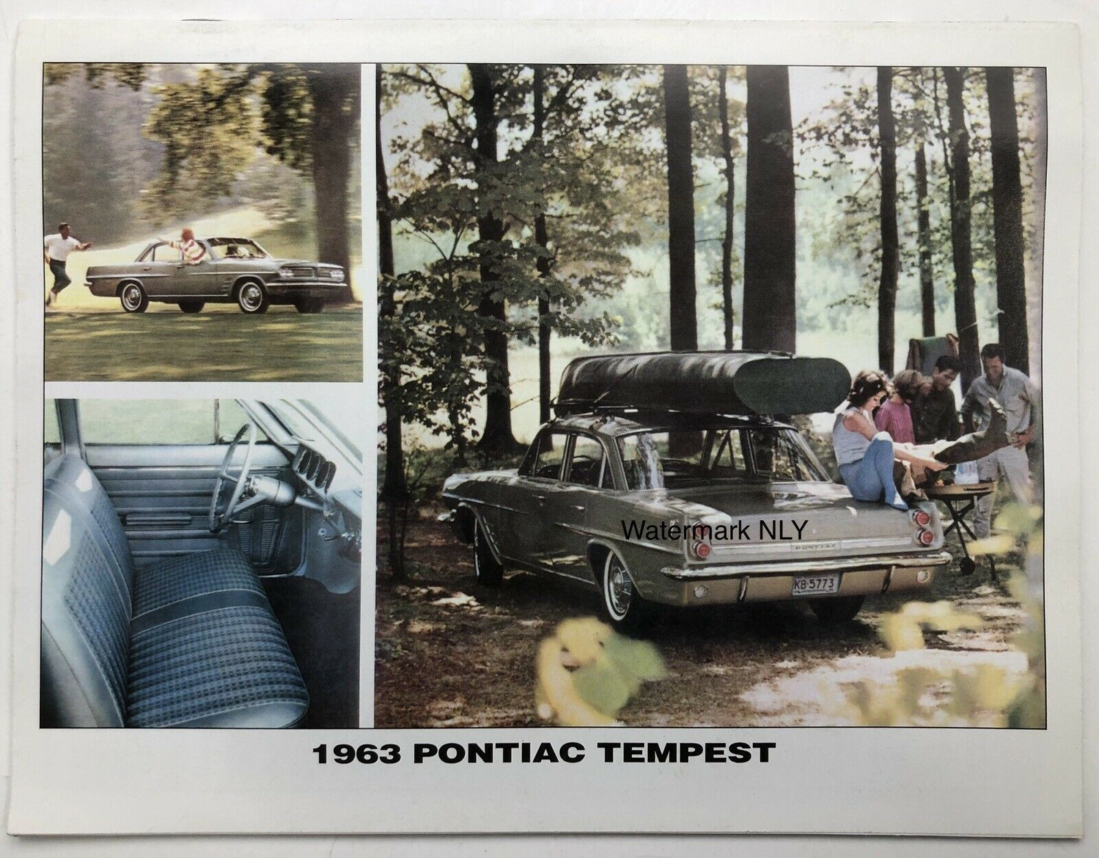 Primary image for 1963 Pontiac Tempest Car Print Ad