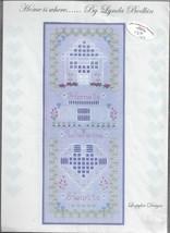 Home Is Where.....By Lynda Bodkin-Loopylon Designs-Cross Stitch & Embroi... - $9.46