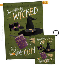 Something Wicked - Impressions Decorative Flags Set S112082-BO - $57.97