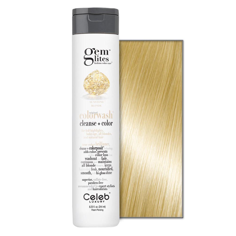 Celeb Luxury Gem Lites Sunstone Colorwash    8.25oz