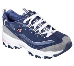 11947 Marine Dlites Skechers Chaussures Femmes Sport Confortable Décontracté - $49.18