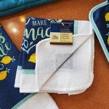 Lemon Kitchen Set, 8pc, Towels Mitts Cloths, When Life Gives You Lemons Lemonade image 4