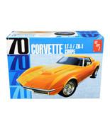 Skill 2 Model Kit 1970 Chevrolet Corvette LT-1/ZR-1 Coupe 1/25 Scale Mod... - $56.42