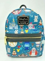 Disney Parks Icons Mini Loungefly Backpack Dumbo Castle Hatbox Attractio... - $72.26