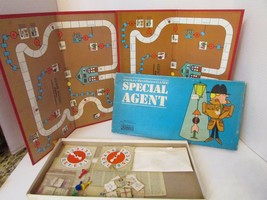 VTG 1966 PARKER BROS SPECIAL AGENT BOARD GAME + EXTRA PARTS ALMOST COMPLETE - $13.67