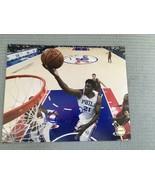 Joel Embiid Signed 8x10 Photo Autographed COA Philadelphia 76ers COA VER... - $65.19