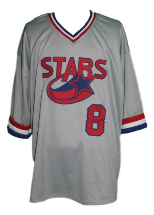 Huntsville Stars Retro Baseball Jersey Grey Any Size