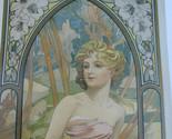 Alphonse Mucha Print Set Art Nouveau Deco Artist Theater Poster 2011