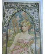 Alphonse Mucha Print Set Art Nouveau Deco Artist Theater Poster 2011 - $104.45