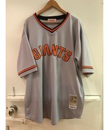 San Francisco Giants William McCovey 1973 Mitchell & Ness Gray Jersey Si... - $148.95
