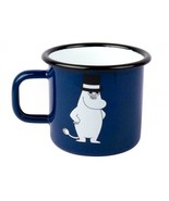 Moomin Emaille Becher RETRO Moominpappa 3,7 dl * NEU - $12.82