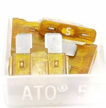 LOT OF 20 NEW LITTELFUSE ATO-5 FUSES ATO5 image 2