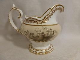 vintage Copeland & Garrett Late Spodes Felspar Porcelain PITCHER w/ gold... - $27.99