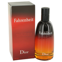 Christian Dior Fahrenheit 3.4 Oz Eau De Toilette Cologne Spray image 2