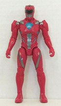"""MMPR Power Rangers Red Ranger 5"""" Action Figure Bandai 2016 Used - $14.85"""