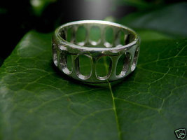 Cosmic Harmony Ring Powerful spell cast magick ring wealth and healing - $55.00
