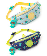 LINE Friends Dino BROWN Pattern Kids Hip Sack (+Silicone Doll Charm) Bag... - $42.98