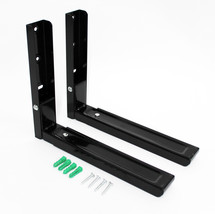 SPAREGETTI® BLACK UNIVERSAL MICROWAVE EXTENDABLE WALL BRACKETS GE  34672 - $13.03