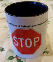 STOP SIGN COFFEE MUG, CUP - $15.00