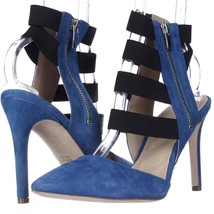 Via Spiga Damali Elastic Strap Dress Pumps, Cobalt, 8 US Display - $45.11