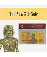 WR Australia 1988 $10 Bicentennial Color Gold Banknote Commemorative Not... - $3.31