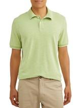 George Men's Short Sleeve Pique Stretch Polo 2XLT 50-52 Honeydew NEW - $14.84
