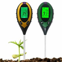 Soil Thermometer Sunlight Temperature PH Meter Moisture Monitor 4in1 Dig... - $41.75 CAD