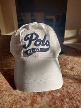 New Polo Hat White 1967 Leather Strap - $21.99