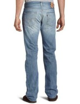 NEW LEVI'S 501 MEN'S ORIGINAL FIT STRAIGHT LEG JEANS BUTTON FLY BLUE 501-0537 image 2