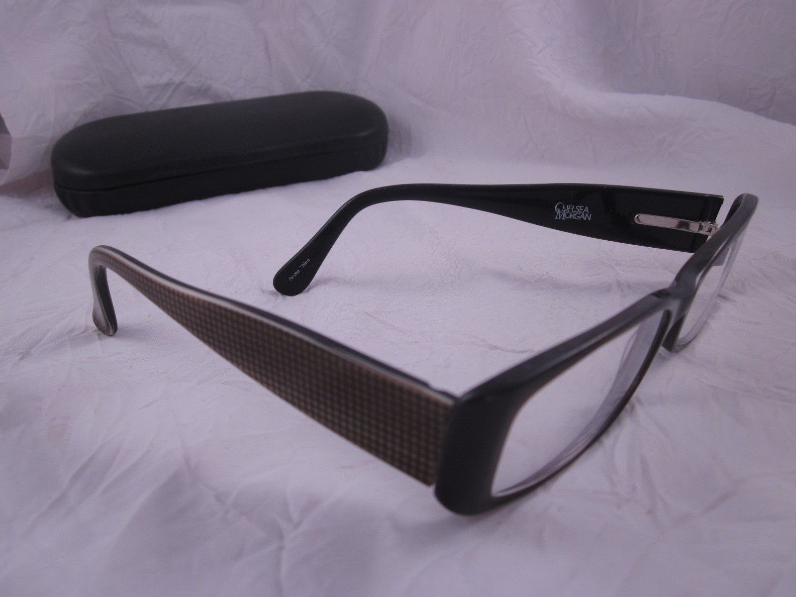Chelsea Morgan Rx Eyeglasses Cm 718 Br Brown and 50 similar items