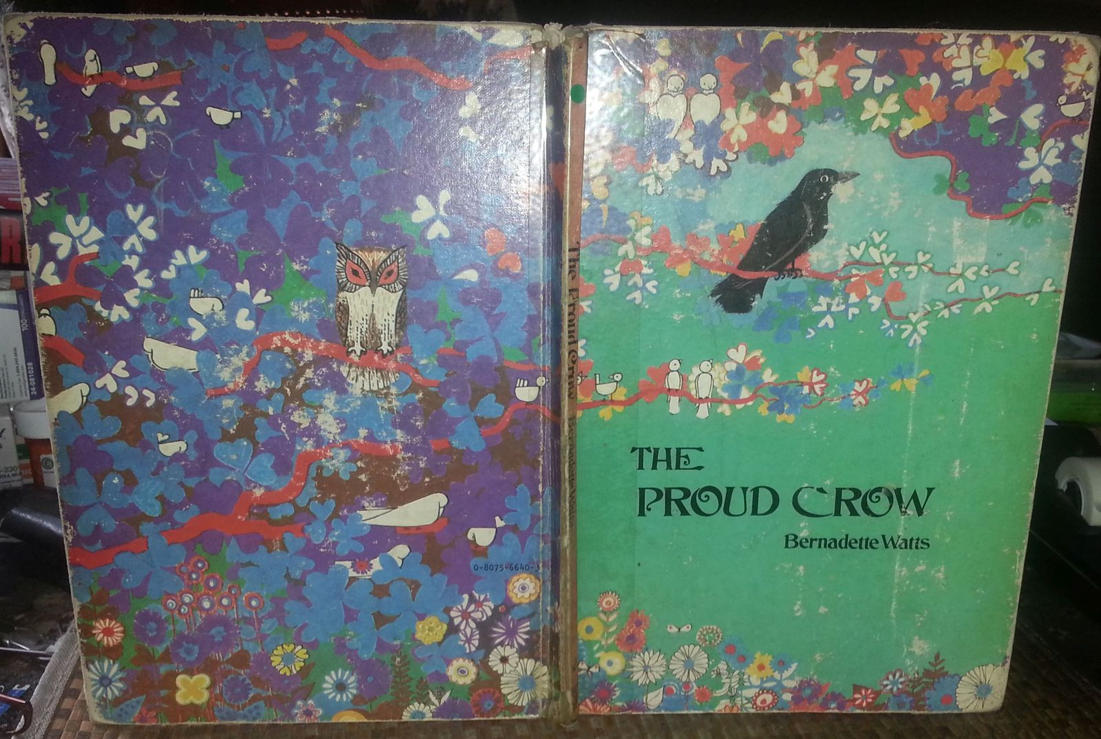 The Proud Crow by Bernadette Watts 1975 HB Envious of a canary!