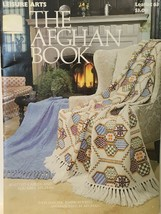 The Afghan Book Knitting Crochet | Leisure Arts 63 - $4.99