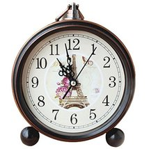 George Jimmy European Retro Alarm Clock Best Alarm Clock Hanging Clocks -Iron To - $29.85