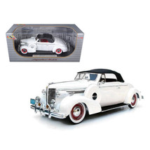 1938 Buick Century White 1/18 Diecast Car Model by Signature Models 18131w - $95.31