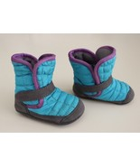 Keen Infant / Walker Rover Crib Boots US 18 Months Teal Purple Gray MINT - $24.72