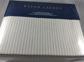 Ralph Lauren Hoxton Graham King Extra Deep Fitted Sheet Gray - $107.79