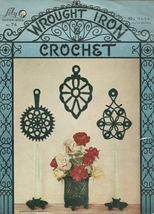 Wrought Iron Crochet Pattern Book 74 Lily Vintage 1954 - $6.99
