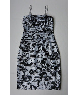 White House Black Market Tiered Dress 0 XS Cocktail Evening Layered Sexy... - $49.95