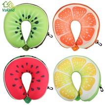 Neck Pillow Fruit Shape Travelling Pillows Cushion Nanoparticles Massage... - $203,83 MXN