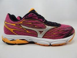 Mizuno Wave Catalyst Size 9 M (B) EU 40 Women's Running Shoes Black Pink