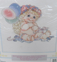 Dreamsicles Beautiful Balloons Counted Cross Stitch 48016 Kit 1997* - $14.00