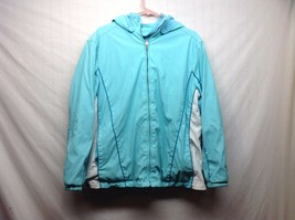 Ladies Light Blue White Jacket by Classic Elements Sz 16 18W