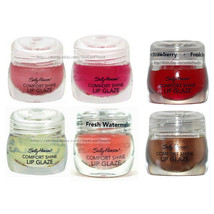 SALLY HANSEN (1) Lip Glaze COMFORT SHINE Gloss Tub DISCONTINUED New *YOU... - $2.93+