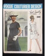 Vintage Vogue Couturier Pattern Sybil Connolly of Dublin 2006 Dress Cut ... - $27.85