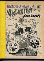 Walt Disney's Vacation Parade #1 1950-Dell-photo copy-Carl Barks-Donald Duck-G - $46.08