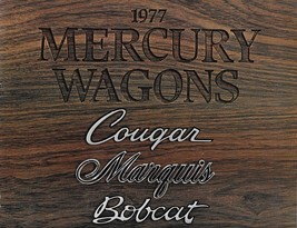 1977 Mercury WAGONS brochure catalog COLONY PARK MARQUIS COUGAR VILLAGER... - $8.00